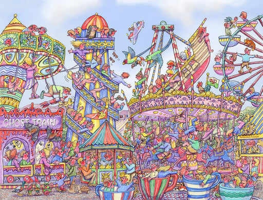 Fairground Fiasco 1000 Piece Jigsaw Puzzle