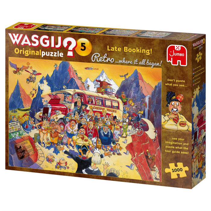 Wasgij Retro 5 Late Booking! 1000 Piece Jigsaw Puzzle 3