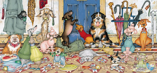 Walkies 636 Piece Jigsaw Puzzle