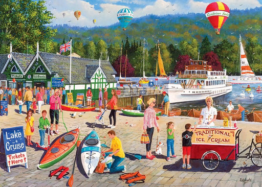 Lake Windermere 1000 Piece Jigsaw Puzzle