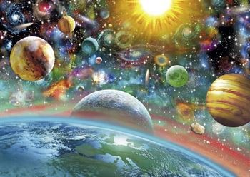 Outer Space 1000 Piece Jigsaw Puzzle