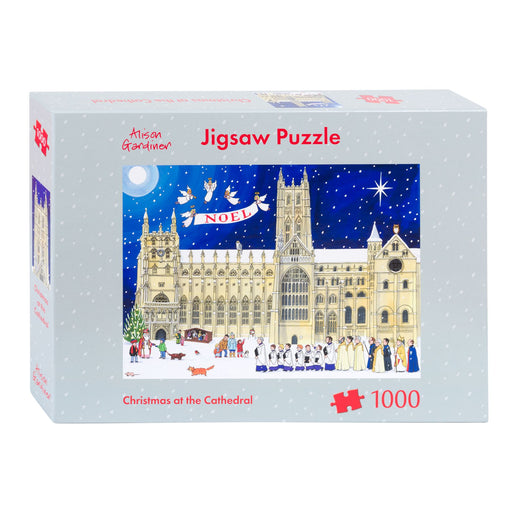 Christmas at the Cathedral 1000 Piece Jigsaw Puzzle