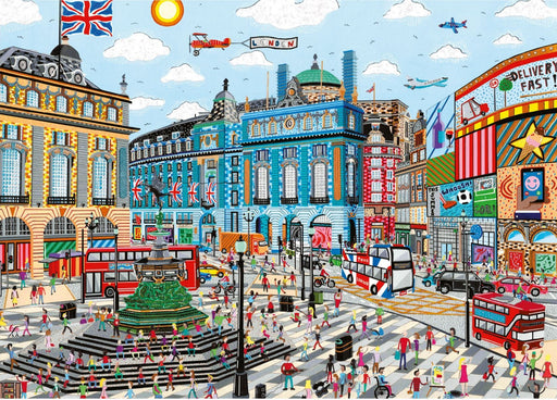 Falcon Contemporary Piccadilly Circus 1000 Piece JIgsaw Puzzle