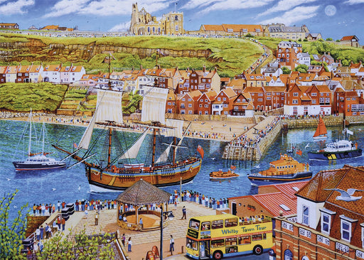 Gibsons Endeavour, Whitby 1000 piece Jigsaw Puzzle