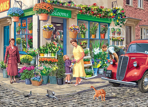 Falcon de Luxe - The Florist 1000 Piece Jigsaw Puzzle