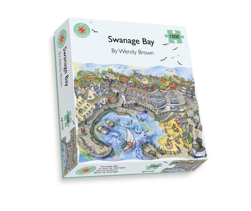 Swanage Bay 500 or 1000 Piece Jigsaw Puzzle box