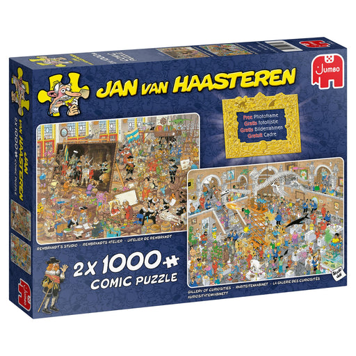 Jan van Haasteren A Trip to the Museum 2 X 1000 Piece Jigsaw box