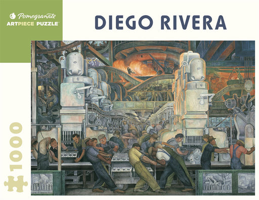 Diego Rivera: Detroit Industry 1000 Piece Jigsaw