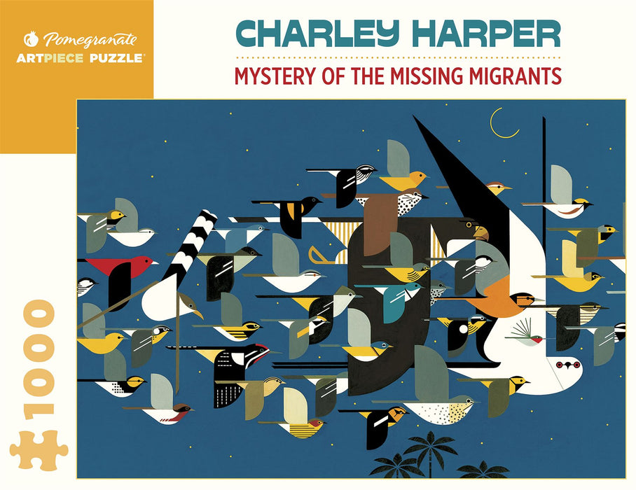 Charley Harper: Mystery of the Missing Migrants 1000 Piece Jigsaw