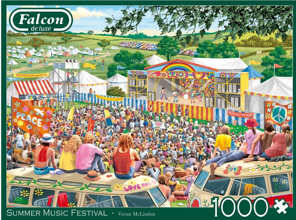 Falcon Summer Music Festival 1000 Piece Jigsaw Puzzle