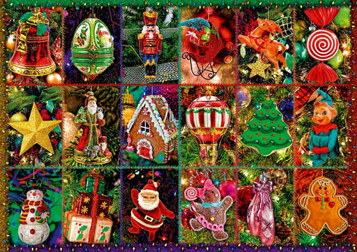 Festive Ornaments 1000 Piece Jigsaw Puzzle