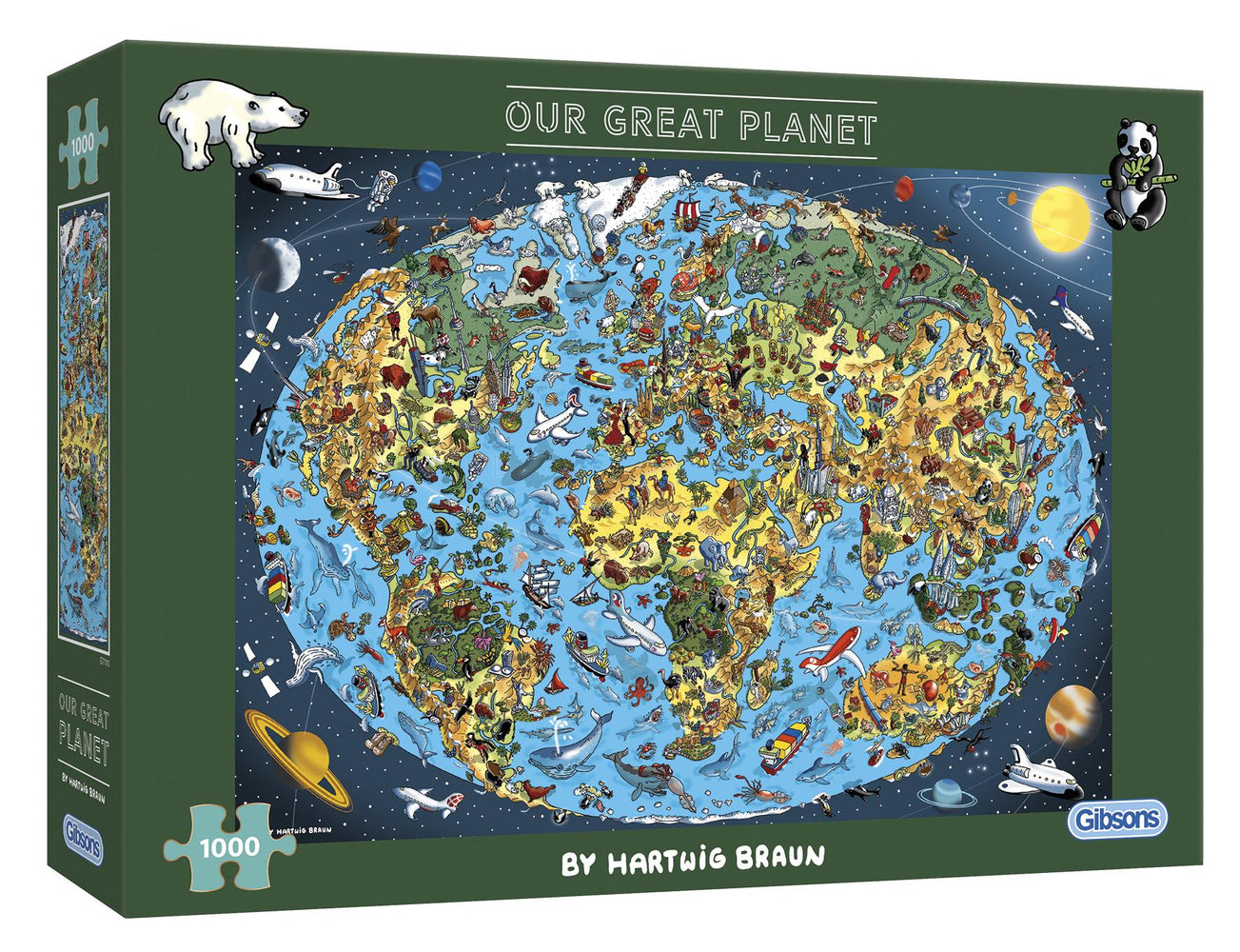 Our Great Planet 1000 Piece Jigsaw Puzzle
