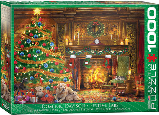 Festive Labs 1000 Piece Jigsaw Puzzle