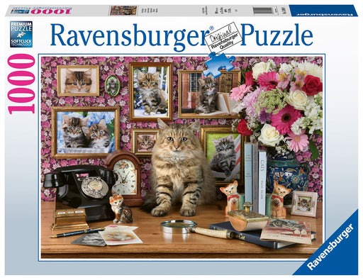 Ravensburger My Cute Kitty, 1000 Piece Jigsaw Puzzle