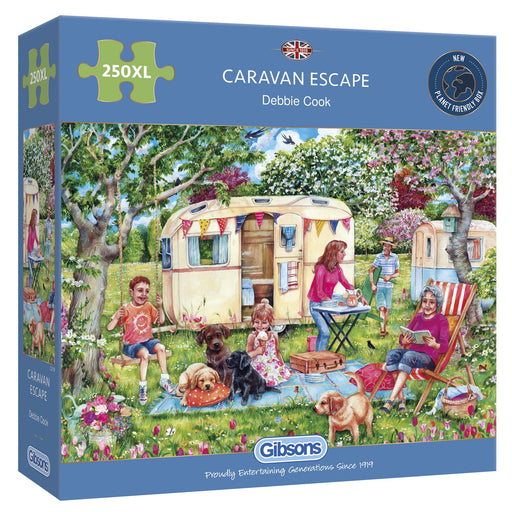 Caravan Escape 250XL Piece Jigsaw Puzzle