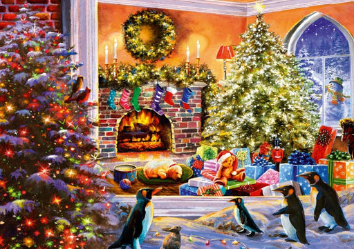 A Magical View to Christmas 1000 Piece Jigsaw Puzzle