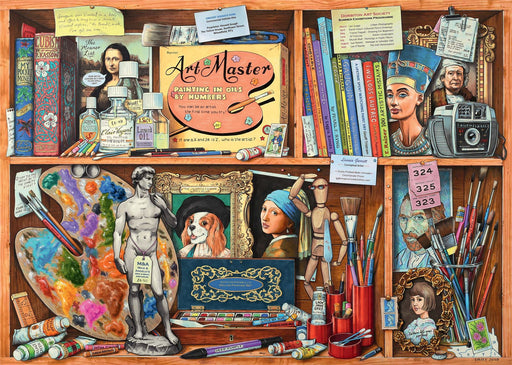 The Artist's Cabinet 1000 Piece Jigsaw Puzzle