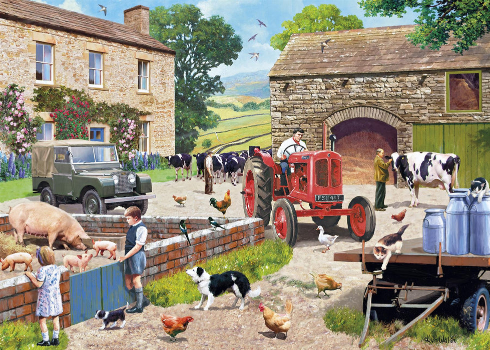 Life on the Farm 1000 Piece Jigsaw Puzzle