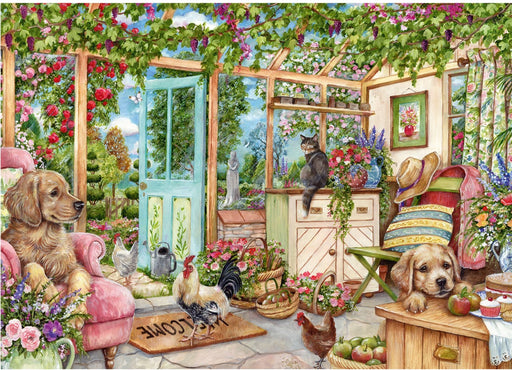 Falcon Country Conservatory 1000 Piece Jigsaw Puzzle