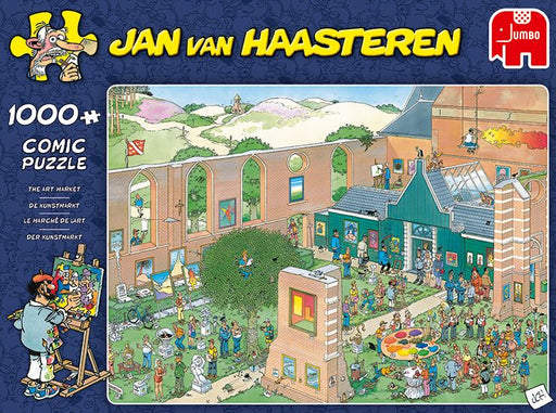 New 2020 - Jan van Haasteren's Art Market 1000 Piece Jigsaw Puzzle