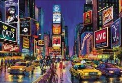 Neon Times Square 1000 Piece Jigsaw Puzzle