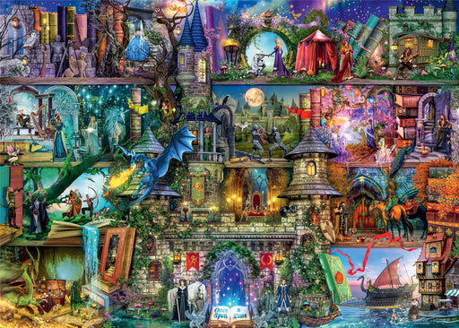 Ravensburger Myths & Legends, 1000 Piece Jigsaw Puzzle