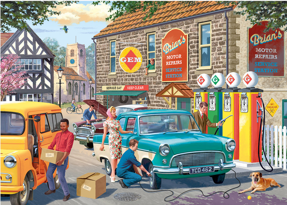 Falcon de luxe The Petrol Station 1000 Piece Jigsaw Puzzle