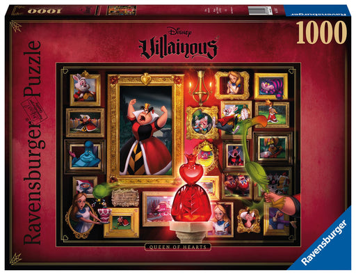 Ravensburger Villainous Queen of Hearts 1000 Piece Jigsaw Puzzle 1