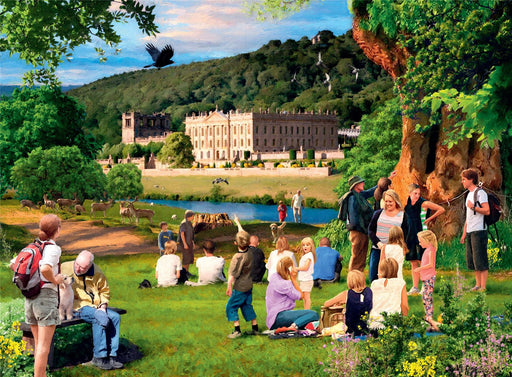 Ravensburger Picturesque Derbyshire 2 x 500 Piece Jigsaw Puzzle