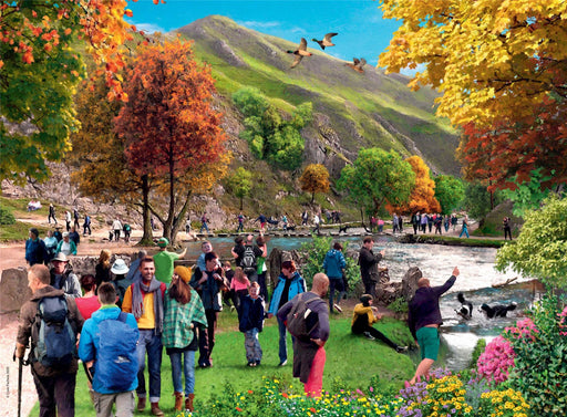 Ravensburger Picturesque Derbyshire 2 x 500 Piece Jigsaw Puzzle 1