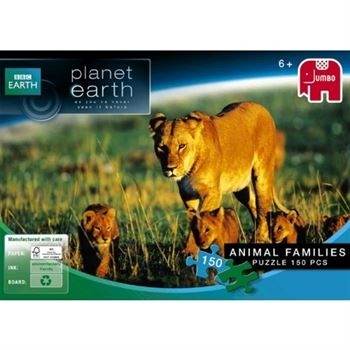 Jumbo Planet Earth - Animal Families Jigsaw Puzzle (150 Pieces)