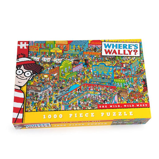 Where's Wally - The Wild Wild West 1000 Piece Jigsaw Puzzle