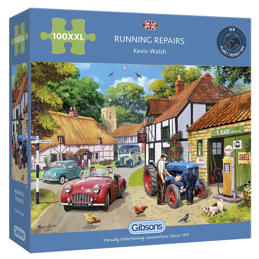 Running Repairs 100XXL Piece Jigsaw Puzzle