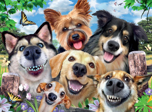 Ravensburger Selfies Dogs' Delight, 500 Piece Jigsaw Puzzle