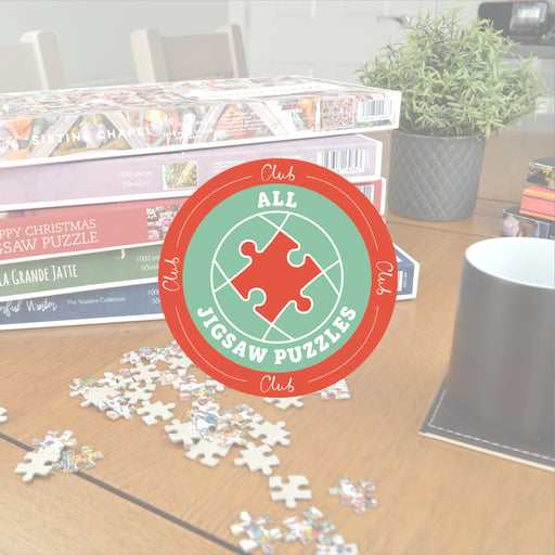 Monthly Jigsaw Puzzle Subscription