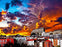 Dramatic Sunset 1000 Piece Jigsaw Puzzle
