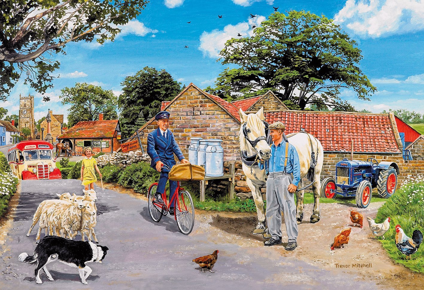 Olive House Farm 100XXL Piece Jigsaw Puzzle