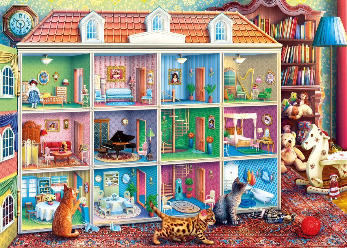 Curious Kittens 1000 Jigsaw Puzzle