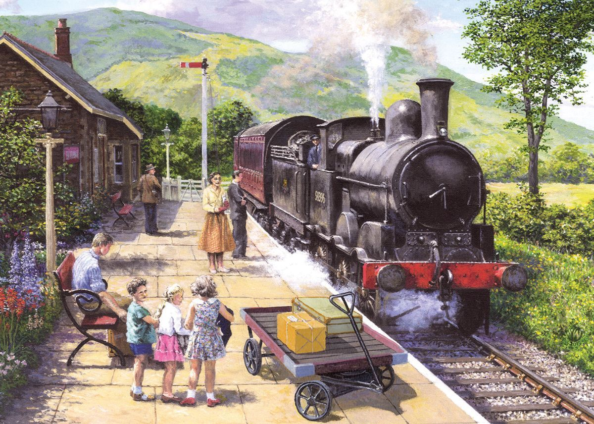 All Aboard to Keswick 1000 Jigsaw Puzzle