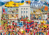 Lifting the Lid - Buckingham Palace 1000 Piece Jigsaw Puzzle