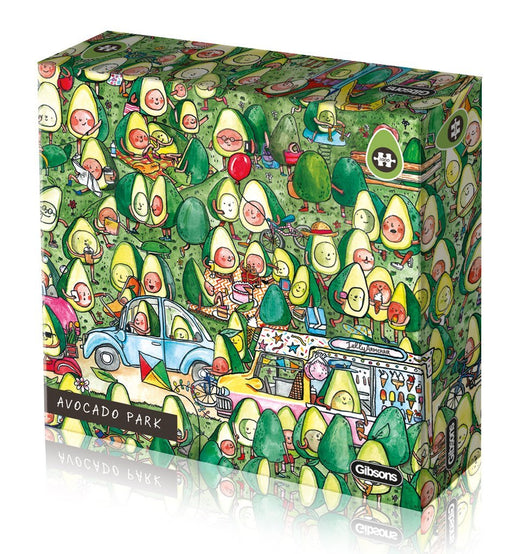 Avocado Park 1000 Piece Jigsaw Puzzle