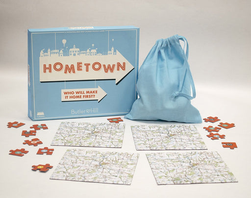 Hometown Jigsaw Puzzle Game