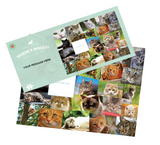 Where's Moggy? Personalised 1000 Piece Jigsaw Puzzle