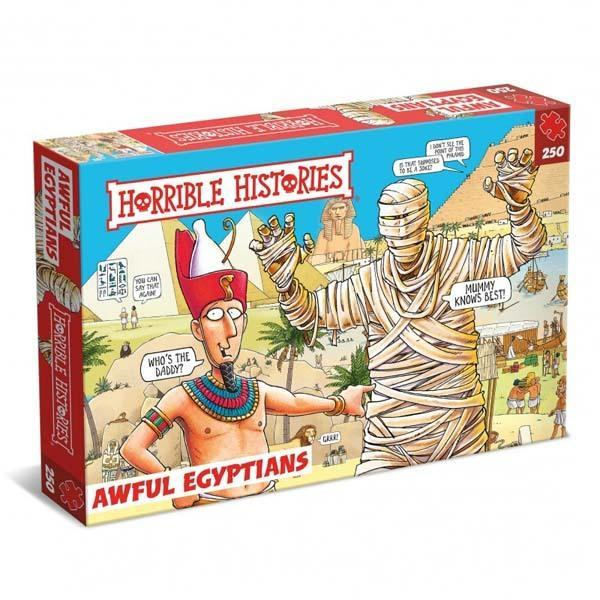 Awful Egyptians - 250 Piece Jigsaw Puzzle