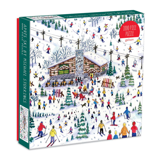Michael Storrings Apres Ski 1000 Piece Jigsaw Puzzle