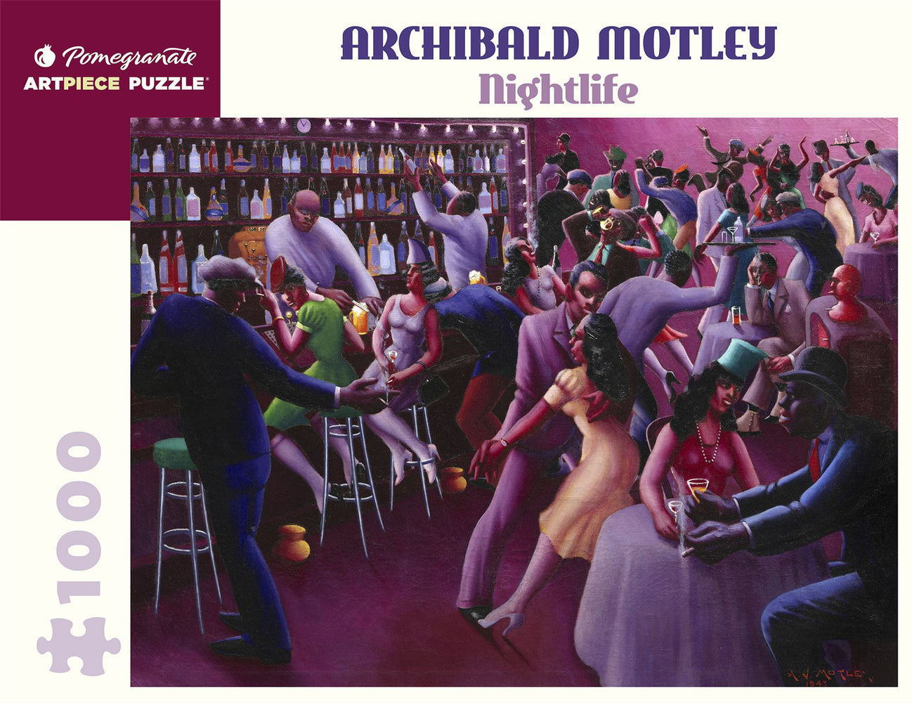 Archibald Motley: Nightlife 1000 Piece Jigsaw