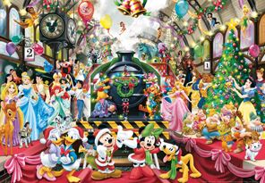 Disney Christmas 1000 Piece Jigsaw