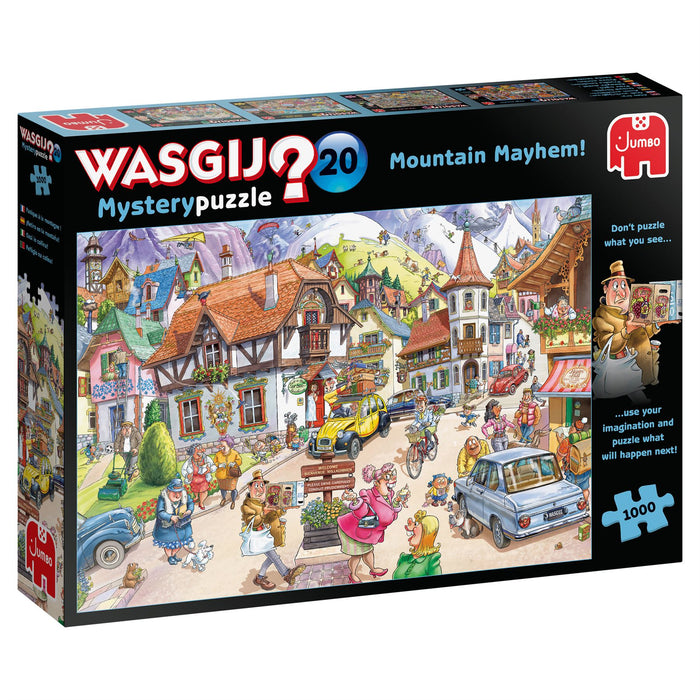 Wasgij Mystery 20 Mountain Mayhem! 1000 Piece Jigsaw Puzzle 2