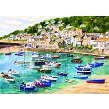 Gibsons Mousehole Jigsaw Puzzle (1000 Pieces)