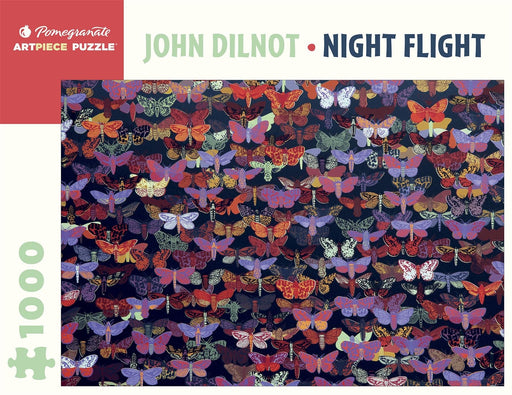 John Dilnot: Night Flight 1000 Piece Jigsaw